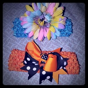 Other - Set of 4 hair accessories- headbands & hair clips